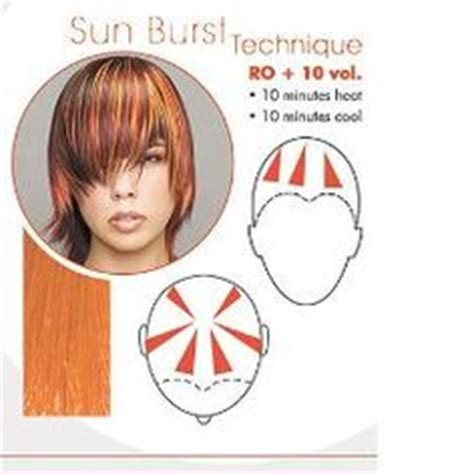 Hair Colour Sectioning Patterns by Foils Hair On Cut And Color Cinnamon Hair