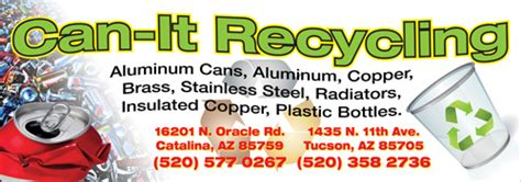 banner design recycle design for can it recycling innovative signs of tucson