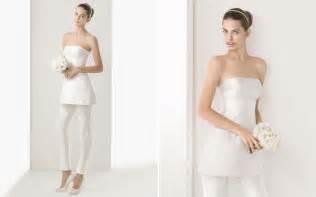 Rosa clara 2014 silk bridal pant suit recent bridal 2015 2016