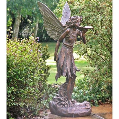 fairy garden statues large fairy garden statue large standing fairy resin
