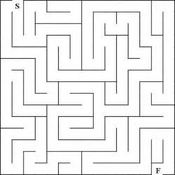Simple mazes for children simple mazes for children printable