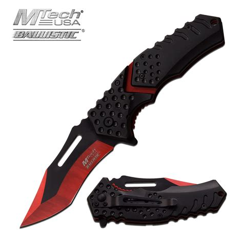assist pocket knife assist folding pocket knife mtech black blade