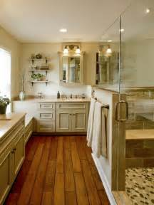 Traditional Bathrooms Flooring by Traditional Bathroom Country Kitchen Design