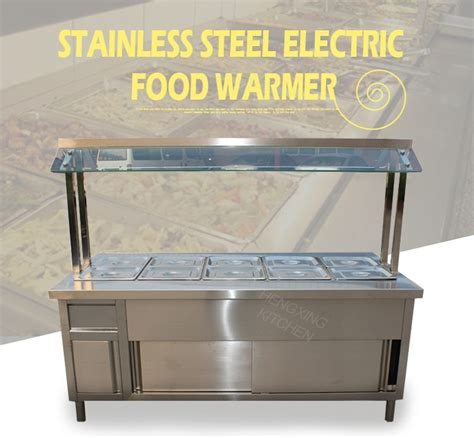 commercial buffet steam table commercial bain table food trailer electric buffet
