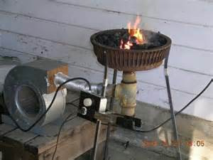home forge from the flickr pool a brake drum forge toolmonger