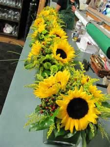 sunflower centerpieces sunflower centerpieces fall thanksgiving