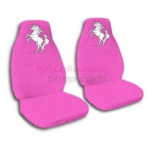 Seat Cover For Unicorn Pink Unicorn Car Seat Covers