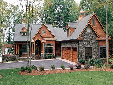 lake home house plans lake house plans with walkout basement craftsman house