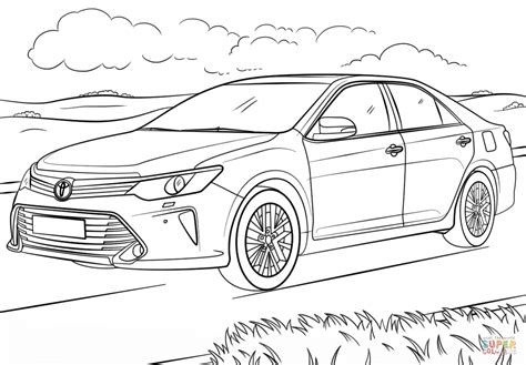 toyota car coloring page toyota hilux coloring pages