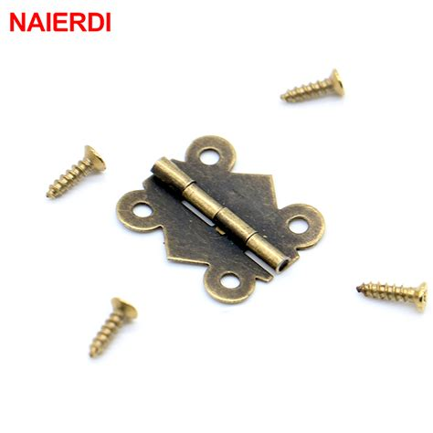Drawer Hinge by 50pcs Naierdi 20mm X17mm Bronze Gold Silver Mini Butterfly