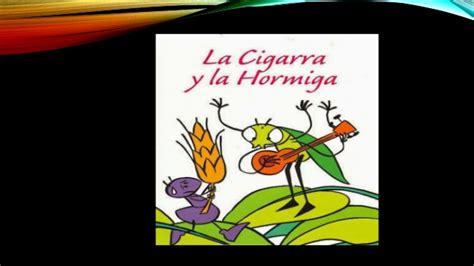 la cigarra y la 8484834344 diapositivas cuento la cigarra y la hormiga
