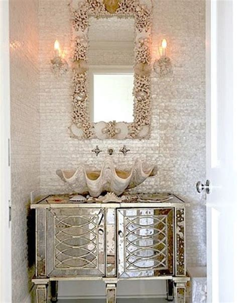 Seashell Bathroom Decor Ideas | 33 modern bathroom design and decorating ideas