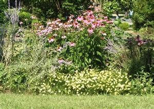 views from the garden design a perennial flower bed for