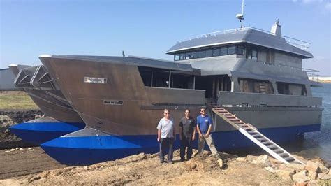 big new boat narooma s big new fishing boat d d launched at port