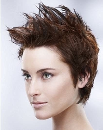 spiked hair styles for women short hairstyles short spiky hairstyles for women