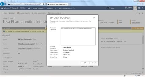 Desk Crm by Service Desk Solution For Dynamics Crm 2013 Microsoft