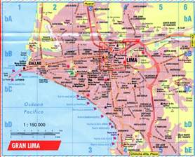 map of lima peru free printable maps