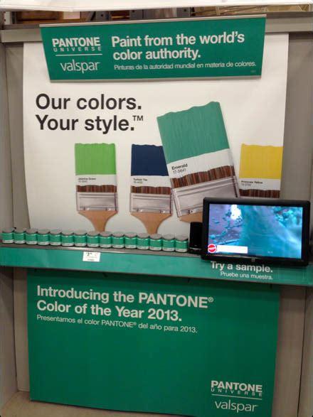pantone valspar color alliance fixtures up retail pop