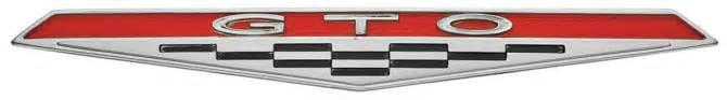 Pontiac Gto Emblems 1964 Dash Emblem 1964 Gto Opgi