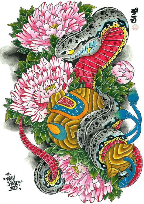 oriental snake tattoo designs 76 best images about hebi on see more