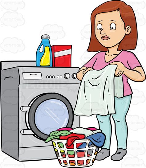 cloth laundry hers clipart a looks at a washed garment with