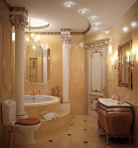 luxury master badezimmer luxury marble bathroom with luxury vanity and gold faucets