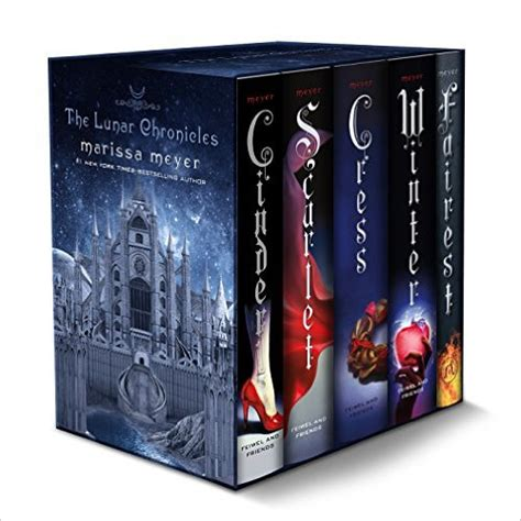 the lunar chronicles boxed the lunar chronicles boxed set marissa meyer