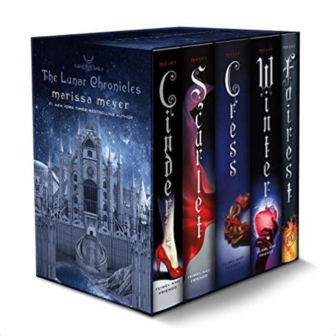 the lunar chronicles boxed set marissa meyer