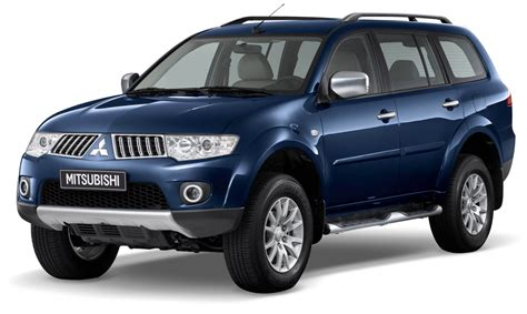 new mitsubishi pajero sport with the vgt engine