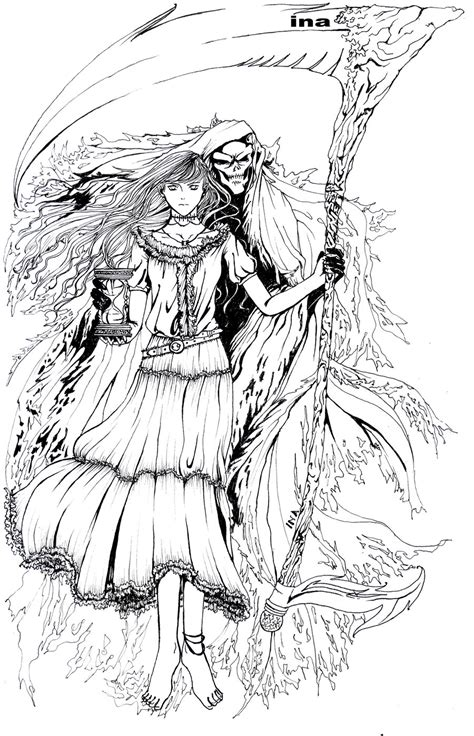 coloring pages dark angel dark angel coloring pages sketch coloring page
