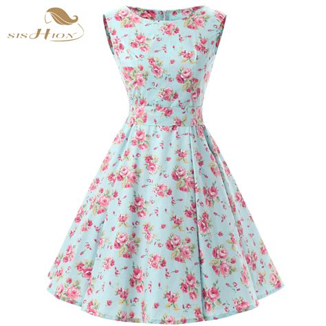 Dress Summer Floral 01 by Aliexpress Buy Sishion Floral Summer Dresses