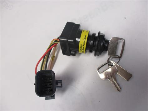 boat ignition switch 87 897716k01 mercury marine outboard boat ignition switch