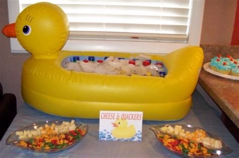 blow up rubber ducky bathtub rubber ducky birthday party or baby shower this is a baby