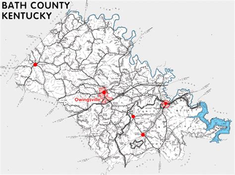 Bathtubs Kentucky Bath County Kentucky Kentucky Atlas And Gazetteer
