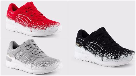 Asics Gel Lyte Iii Snowflake Premium Quality the asics gel lyte iii snowflake pack is available now