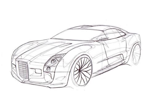 Sport Car Coloring Pages Coloring Home