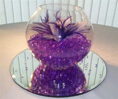 Black And Purple Table Decorations by Bowl Centerpiece Ideas Wedding Centerpieces Ideas