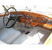 Interior Of A 1952 Bentley R Type Continental  Gorgeous