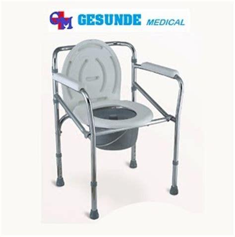 Kursi Roda Onemed Surabaya bangku toilet pasien fs 894 onemed toko medis jual alat