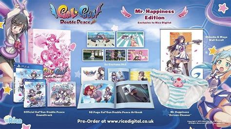 Kaset Ps4 Gal Gun Peace gal gun peace collector s ed comes with a pair of htxt africa