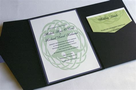 Celtic Wedding Invitations by Styles And Symbols With Celtic Wedding Invitations
