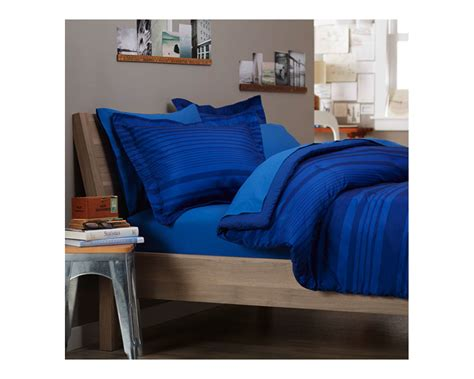 royal blue bed set pinzon