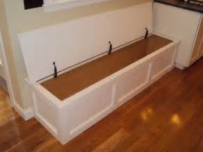 How To Build Bench Seating For Kitchen Built In Bench Storage Traditional Kitchen Boston