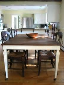 kitchen table refinishing ideas chalk paint on pinterest stencils mismatched chairs and