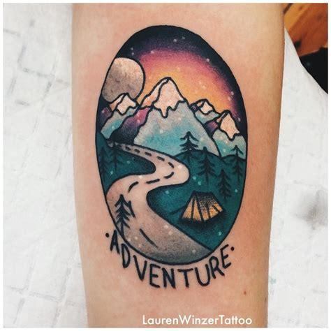 adventure tattoo ideas adventure
