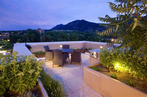 rooftop garden residential projects projects r design land architects in new york and colorado