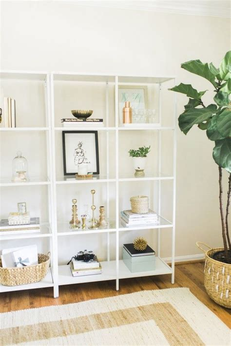 ikea office shelving best 25 glass shelves ideas on