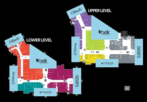 Layout Of Haywood Mall Greenville Sc | complete list of stores located at haywood mall a