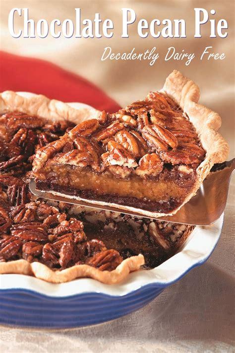 dairy  chocolate pecan pie recipe  decadent layered