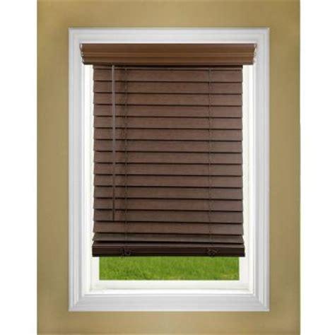 lift window treatment oak 2 in cordless faux